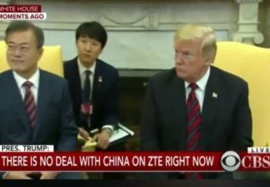 POTUS Scolds Rude Reporter Asking About Rod Rosenstein While South Korean President Was Sitting Next To Him! (VIDEO)