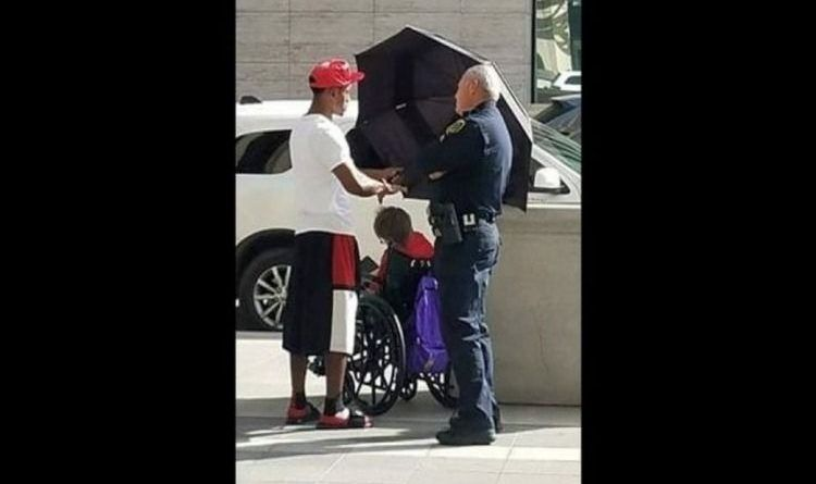 Texas Man's Small Act Of Kindness For Elderly Woman Melts Heart