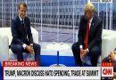 President Trump's Joke To Macron During NATO Summit Has Made Everyone Laughing! (VIDEO