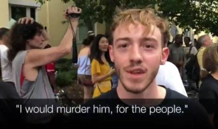 "Antifa Activists In Washington Threaten to Kill President Trump On Video: ""I Would Murder Him – Do Him Like Gaddafi"""