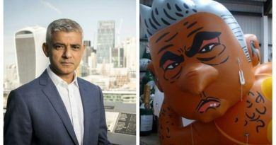 LONDON MAYOR SADIQ KHAN WHO APPROVED 'BABY TRUMP' FLOAT JUST GOT ULTIMATE KARMA!