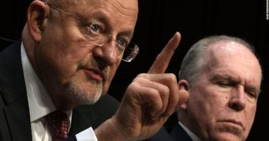 James Clapper Turns On John Brennan Over His Overheated Anti-Trump Rhetoric! (VIDEO)