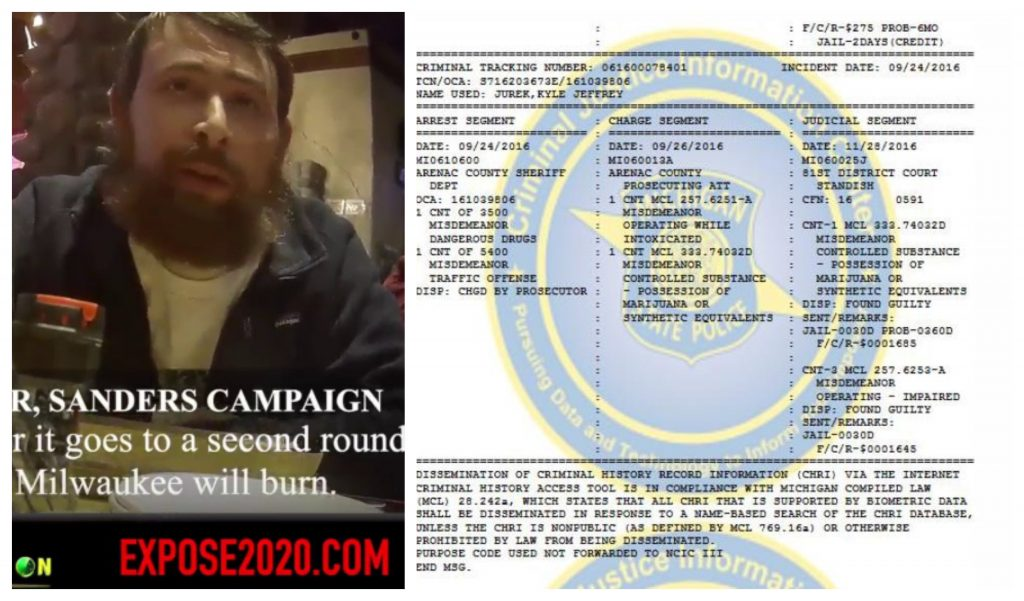 """The """"Star"""" In The Latest Bombshell From Project Veritas Has A Long Arrest Record Including Drug Charges And a 2019 Arrest While Working Campaign In Iowa – Right Journalism"""