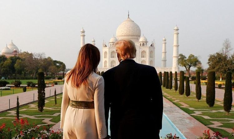 Photos and Videos: Melania Trump Dazzles In White In Ahmedabad On First India Visit