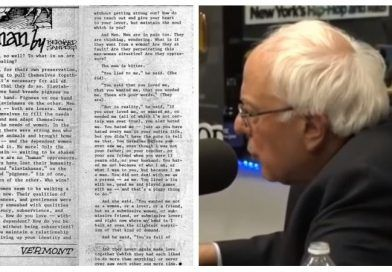 Video: Bernie Sanders Wrote An Essay About A Woman Who 'Fantasizes Being Gang Raped By 3 Men – Democrats Silent