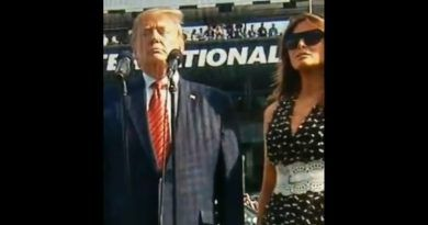 Video: Crowd Erupts As President Trump Gives The Command For Drivers At The Daytona 500 To Start Their Engines