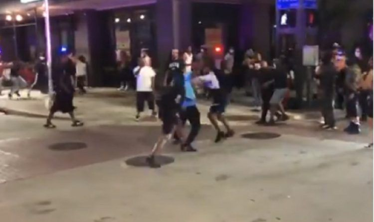 Rioters Drag A Black Man From His Car And Start Beating Him