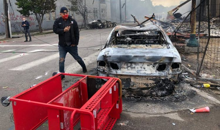 Video: Here's What Minneapolis Looks Like Morning After Protests, Riots And Looting
