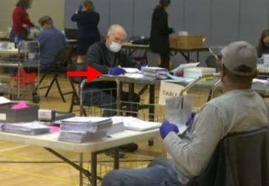 Video: Mail-In Ballot Examiners In Maryland Allegedly Seen Marking Ballots With Pen In Live Video Feed