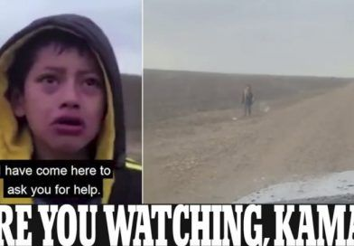 Video: The Moment Sobbing Migrant Boy Approaches Texas Border Patrol After Being Kidnapped And Spend The Night In The Desert
