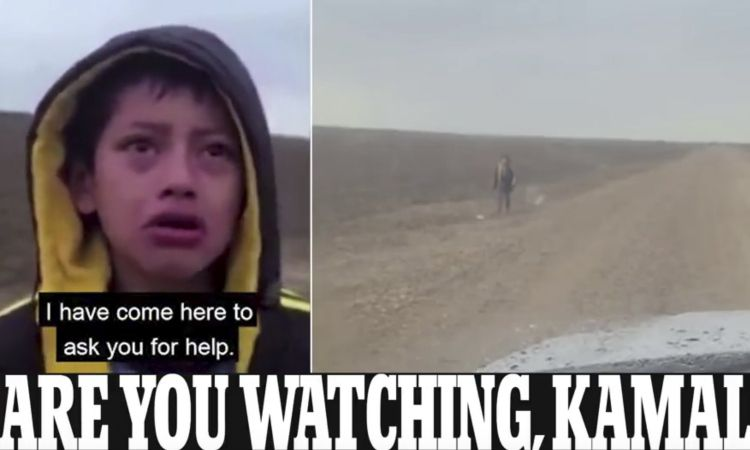 Video: The Moment Sobbing Migrant Boy Approaches Texas Border Patrol After Being Kidnapped And Spend The Night In The Desert – Right Journalism