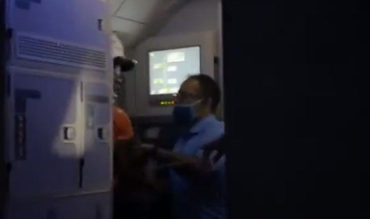 """Breaking Video: Man Tries To """"Take Down"""" Plane – The Passengers Serve Him Instant Justice"""