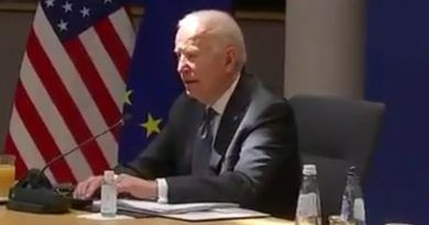 Embarrassing Video: Joe Biden Confuses Himself Again This Morning, Gets Lost Reading His Notes