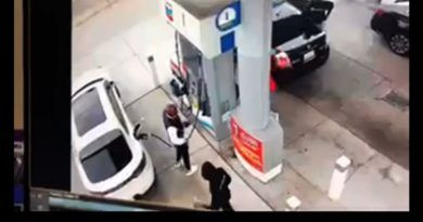 Thugs Try To Rob Retired Police Captain At Gas Station – Receive Instant Justice (Video)